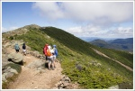 Hikers on Franconia Ridge