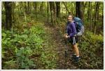 Christine Hiking