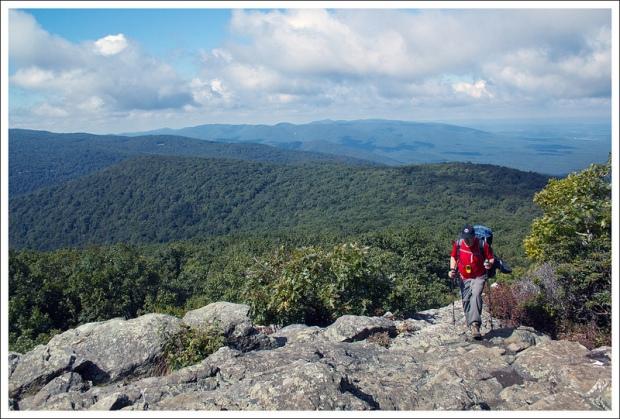 Hiking Over Humpback Mountain