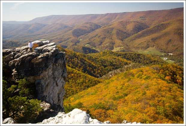 Fall foliage and amazing views.