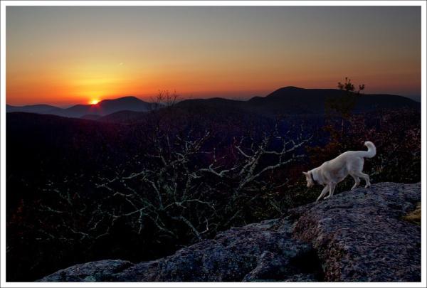Sunrise on Spy Rock