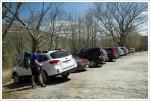 Parking at Hog Camp Gap