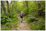Hiking Along the Pisgah Trail