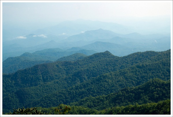 Smokies View from Wesser View