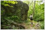 Boulders on Laurel Prong TrailBoulders on Laurel Prong Trail