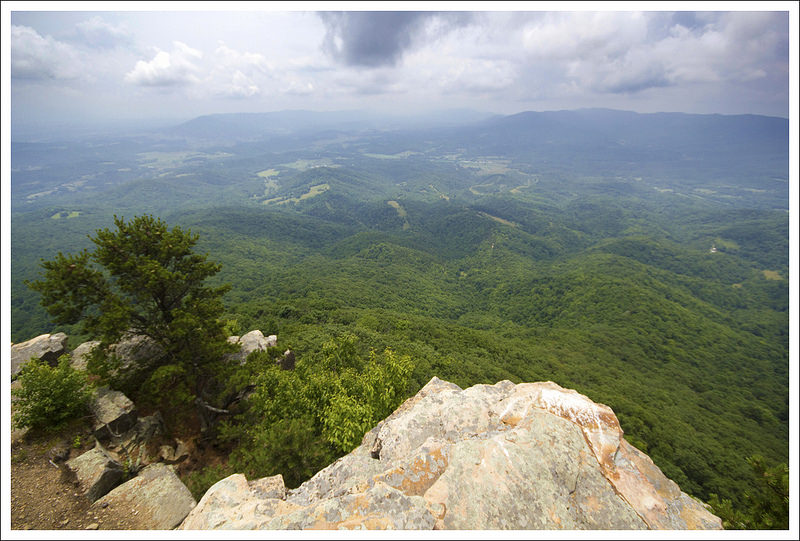 amazing house mountain #4: The view from Goat Point on Big House Mountain
