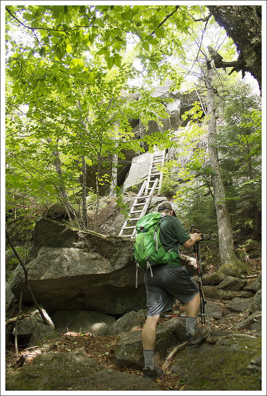 Ladders on Morgan Trail