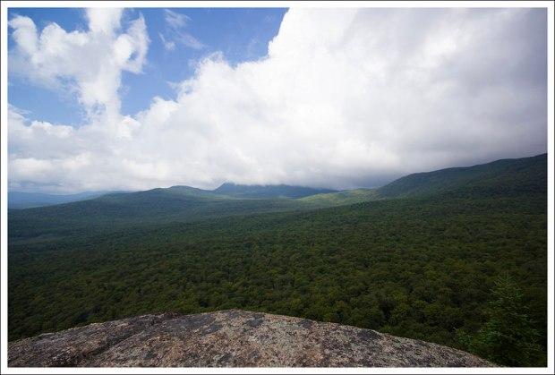 Clouds over the Kinsman Ridge