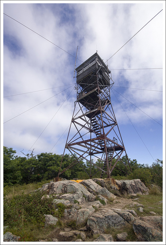Fire Tower on Red Hill