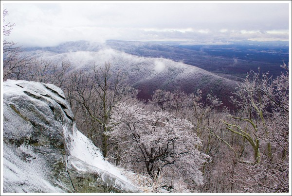Snow Along the Blue Ridge Parkway