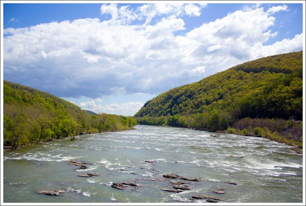 Potomac River in Harpers Ferry