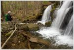Small Falls Above Apple Orchard