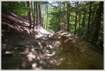 Erosion on Mount Major Trail