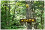 Toilets in the Woods