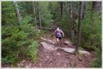 Climbing Toward the Hedgehog Mountain Ledges