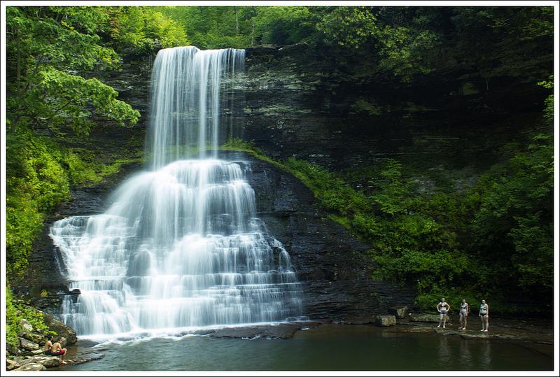 cascade falls virginia trail guide