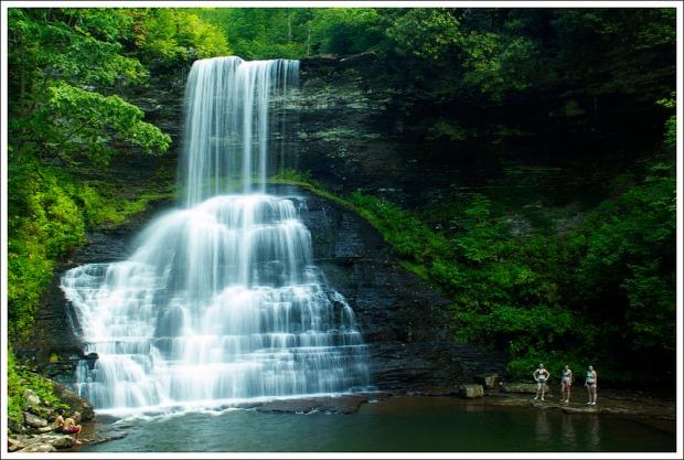 Cascades Falls in Giles County