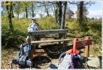Picnic Table at Sky Meadows