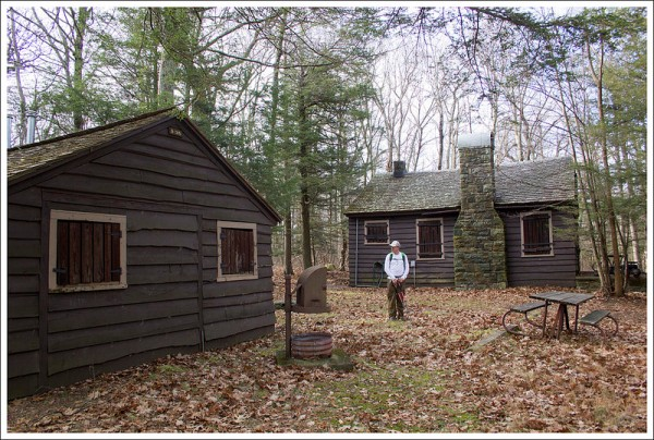 Buildings Along the Fire Road