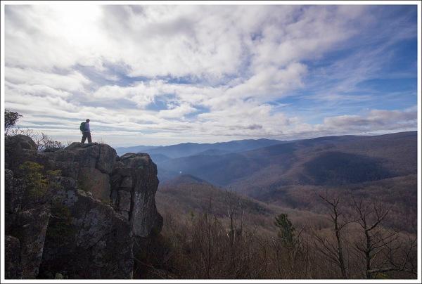Summit of Robertson Mountain