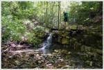 Small Waterfall and Pool on Rocky Run