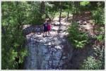 Christine & Adam Atop the Crag