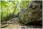 Side View of Hidden Rocks