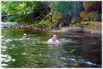 Swimming in Red Creek