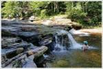 Enjoying Red Creek