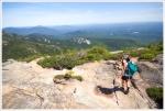 Descending Mt. Chocorua