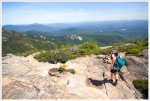 Descending Mt. Chocorua
