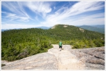 Views on the Hike Down Chocorua