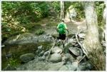 Crossing Brackett Brook