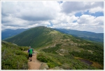 Descending Mt. Eisenhower