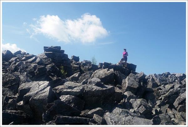 Climbing the Rock Pile