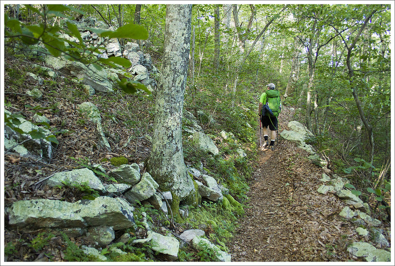 Ascent Toward Fullhardt Knob