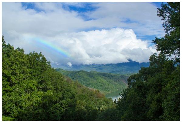 Rainbow Over Fontana Lake