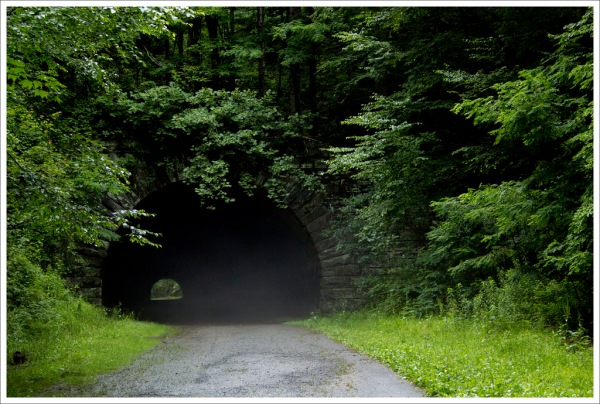 The Road to Nowehere Tunnel