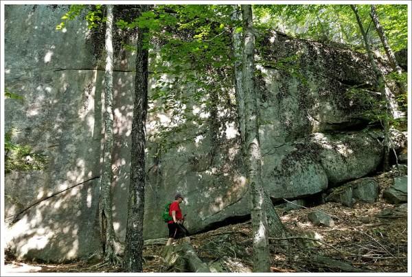 Massive Boulders on the Boulder Loop