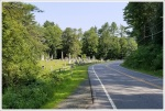 Cemetery at Road Crossing