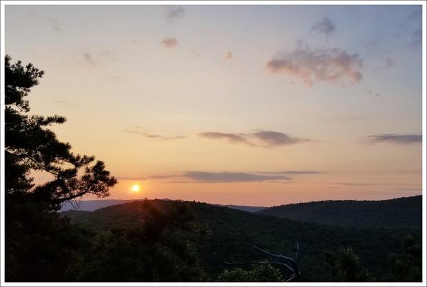 Halfmoon Sunrise
