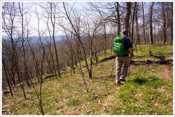 Ridge trail to Church Rock
