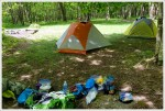 Tenting at Old Orchard