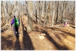 Adam Hiking Ragged Mountain