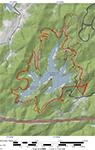 Ragged Mountain Map