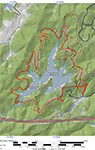 Ragged Mountain Map